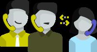 monitorización, susurros e intervención en llamadas