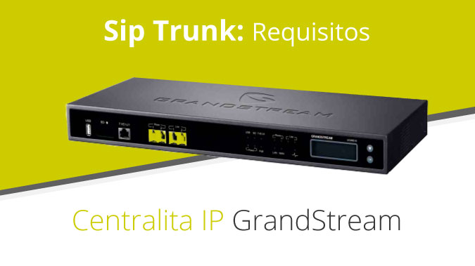 telsome centralita ip sip trunking
